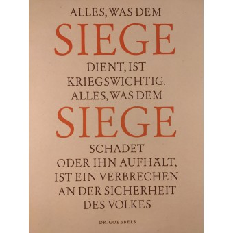 Everything which serves victory is essential to the war effort.... Espenlaub militaria