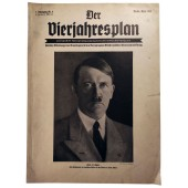 Der Vierjahresplan, 4th vol., April 1937 German nation have to thank their Führer for their will to rebuild