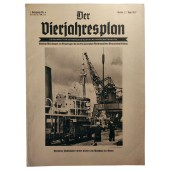 Der Vierjahresplan, 6th vol., 22 June 1937 The Swedish-German trade connections