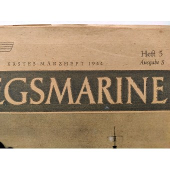 Die Kriegsmarine, 5th vol., March 1944. Espenlaub militaria
