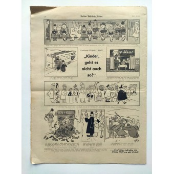 For the Führer's birthday on April 20thThe Berliner Illustrierte Zeitung, №15 April 1942. Espenlaub militaria