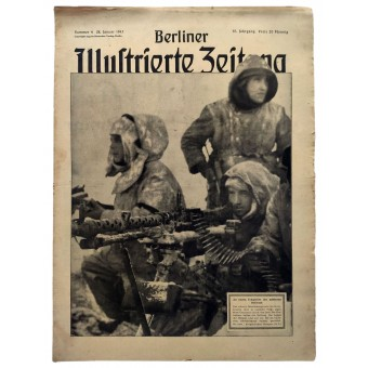 The Berliner Illustrierte Zeitung, 4th vol., January 1943. Espenlaub militaria