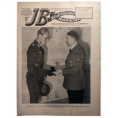 The Illustrierter Beobachter, 10 Sept1942 Führer hands over to Captain Baumbach