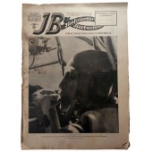 The Illustrierter Beobachter, 35 vol., August 1942 The observer of a Ju-88 has his hands full