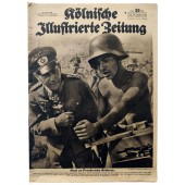 The Kölnische Illustrierte Zeitung, June 1944 SS-Obersturmführer Wittmann came across a British tank regiment with his Tiger
