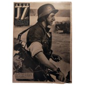 "The Neue Illustrierte Zeitung, 26th vol., June 1942  ""Condor"" blows up convoy"