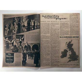 The Neue Illustrierte Zeitung, 26th vol., June 1942  Condor blows up convoy. Espenlaub militaria