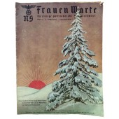 The NS Frauen Warte - 12th vol., December 1938 German national Christmas 1938
