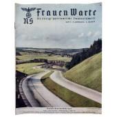The NS Frauen Warte - 2nd vol., July 1938 German heartland Thuringia