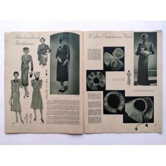 The NS Frauen Warte - 2nd vol., July 1938 German heartland Thuringia. Espenlaub militaria