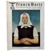 The NS Frauen Warte - 3rd vol., August 1938 Painting by Adolf Wissel, Velbern
