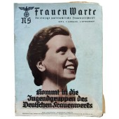 The NS Frauen Warte - Nr6 September 1938 Join the youth group of the German women's organization