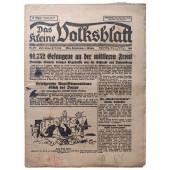 Das kleine Volksblatt - 2nd of October 1941 - 91,752 prisoners on the middle front