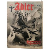 Der Adler - vol. 10, May 13th, 1941 - German aircrafts on Olympus, collapse in Greece