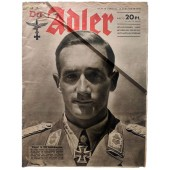 Der Adler - vol. 19, September 15th, 1942 - Stukas against Soviet tanks and vehicles