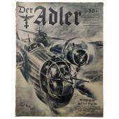 "Der Adler - vol. 21, November 28th, 1939 - ""Wellington"" on the flight"