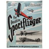 Der Deutsche Sportflieger - vol. 1, January 1937 - The engines on the XV. Paris Aerosalon