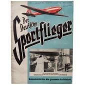 Der Deutsche Sportflieger - vol. 1, January 1941 - Germany's Luftwaffe, fires in London