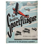 Der Deutsche Sportflieger - vol. 2, February 1937 - Ha 139, the new German 16-ton seaplane