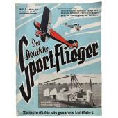 Der Deutsche Sportflieger - vol. 3, March 1937 - The 1937 American Aviation Salon