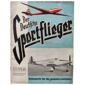 "Der Deutsche Sportflieger - vol. 4, April 1940 - Bell P-39 ""Airacobra"" single-seater fighter"