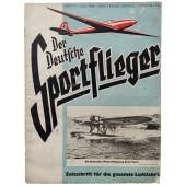 """Der Deutsche Sportflieger - vol. 7, July 1940 - """"Stukas"""" help the infantry"""