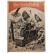 Der Rundblick - vol. 1/2, 8th of January 1943 - On the Illmensee front