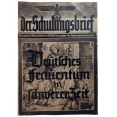 Der Schulungsbrief - vol. 7/8/9 from 1940 - War, maternity and comradeship
