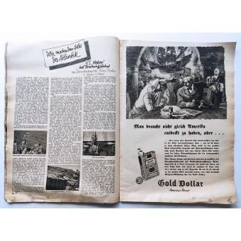 Die Wehrmacht - vol. 7, April 1938 - At the new German-Hungarian border. Espenlaub militaria