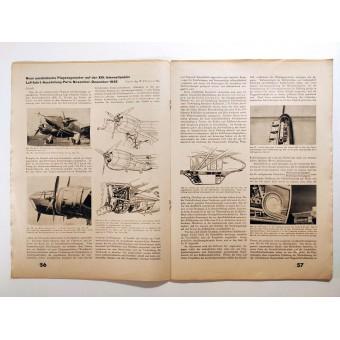 the Flug und Werft - vol. 4, 17th of April 1939 - A German glider for the Olympics in 1940. Espenlaub militaria