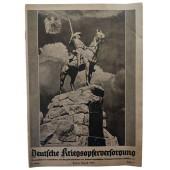 The Deutsche Kriegsopferversorgung, 11th vol., August 1938 Blücher's Buderose Castle