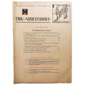 The DRK-Arbeitsbrief - vol. 5 from September 1943 - The DRK transport