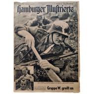 The Hamburger Illustrierte - vol. 24, June 13th, 1942 - The pith helmet of the German Africa Corps