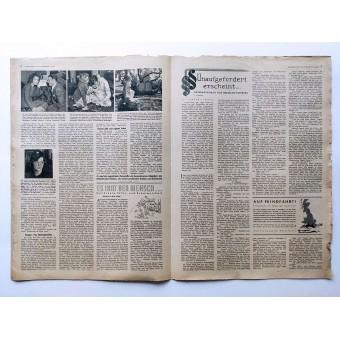 The Hamburger Illustrierte - vol. 24, June 13th, 1942 - The pith helmet of the German Africa Corps. Espenlaub militaria
