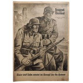 The Jugend und Heimat - March 1942 - Father and son united in the fight for their homeland