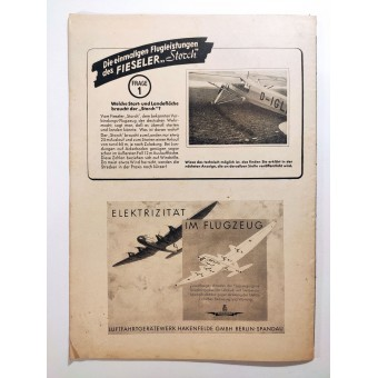 The Luftwelt - vol. 16, 15th of August 1942 - Anti-aircraft artillery, Luftwaffe crews and air defense. Espenlaub militaria