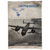 """The Luftwissen - vol. 7, July 1942 - Smashed armored dome of the """"Maxim Gorki"""" battery"""