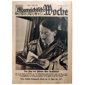"""The Österreichische Woche - vol. 14, 7th of April 1938 - Every German votes """"Yes"""" on April 10th"""