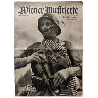 The Wiener Illustrierte - vol. 34, August 20th, 1941 - Victorious against the toughest enemy. Espenlaub militaria