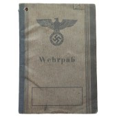 The Wehrpass issued in 1945 for 16-years-old boy