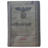 The Wehrpass issued to a musician from Vienna