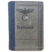The Wehrpass issued to Gefreiter of Luftwaffe