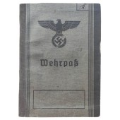 The Wehrpass issued to WW1 veteran and POW