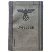 The Wehrpass issued to WW1 veteran who was marked as ineligible for military service in Wehrmacht