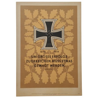 Moltke: In order to achieve great success, something has to be dared. Espenlaub militaria