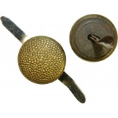 3rd Reich 12 mm Generals or NSDAP gold buttons for visor hat