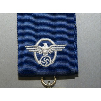 3rd Reich Police long service decoration, 2nd class, for 18 years.