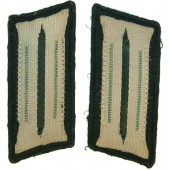 3rd Reich Wehrmacht Gebirgsjager collar tabs, private firm made example