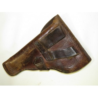 7,65 Korovin pistol early Soviet- RKKA brown leather holster. Espenlaub militaria