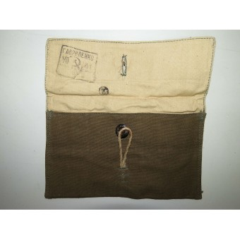 M41 Soviet Russian spare ammo pouch for Mosin rifle, dated 1941 year. Espenlaub militaria